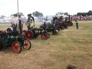 Miniature Steamers in the main arena