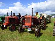 Tractor Parade in the main arena