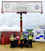 Local rural crime unit stand