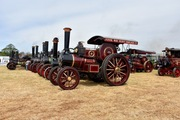 Steam engines in rhe main arena