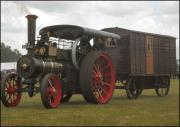 Steam Engine and Living van