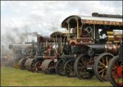 Steam engine line