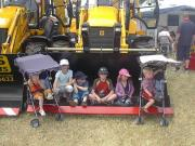 Kids love big diggers